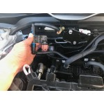 Flex Fuel sensor in place under hood